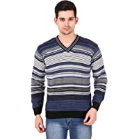 Trendy House Men's Wool V-Neck Sweater