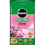 Miracle-Gro PEAT FREE Premium Orchid Compost - 6 Litre BAG, (New 2020 Range), Pink
