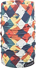 Noise NOIHWPEX098 Polyester Monochrome Exquisite Bandana, Adult (Multicolor)