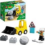 LEGO 10930 DUPLO Town hjullastare, byggfordon, leksaksuppsättning för småbarn från 2 år