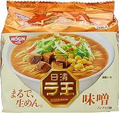 Nissin - Raoh Japanese Instant Ramen Noodles Miso 17.1oz (For 5 Bowls) by Nissin