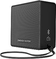 Energy Sistem Music Box 1 plus Slate - Bluetooth v4.1, 5W, microSD MP3, FM Radio, Audio-In - Black