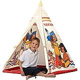John 78607 – Yakari tipi tält – indiantält, wigwam, lektält, barntält, lekhus med tryckt motiv för barn