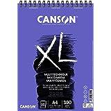 Álbum Espiral Microperforado, A4, 30 Hojas, Canson XL Mix Media, Grano Texturado 300g
