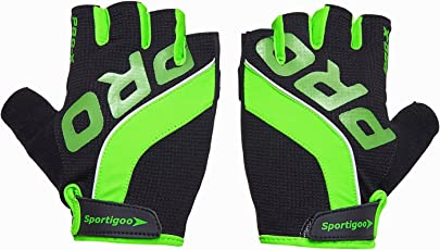 Sportigoo PRO Cycling Glove - Black/Green