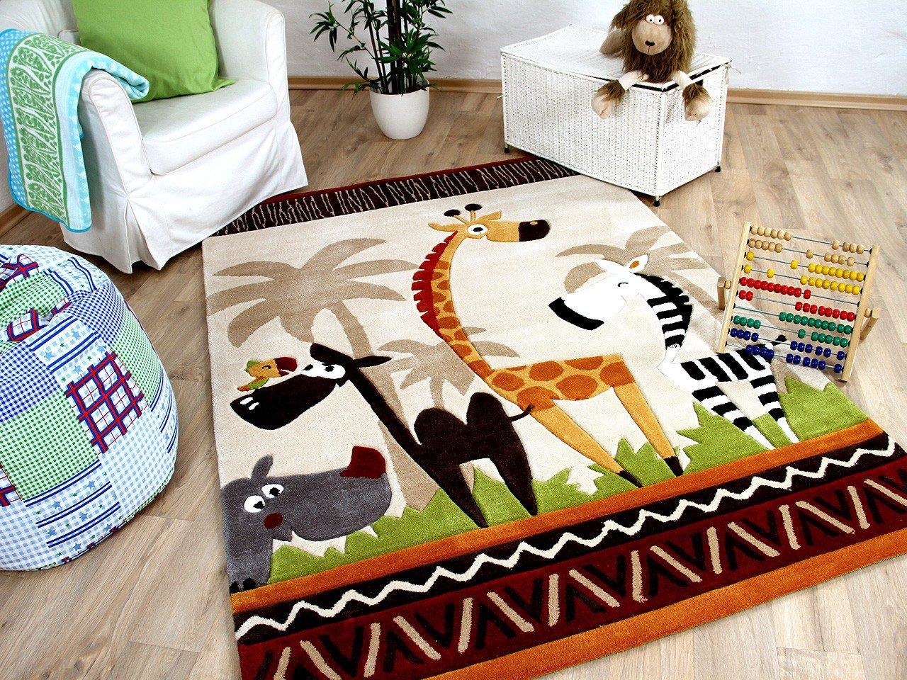 Amazon.de: Lifestyle Kinderteppich Beige Safari !!! Sofort ...