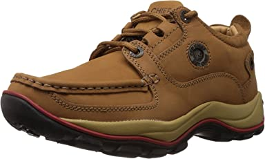 Redchief Men's Leather Trekking and Hiking Outdoor Boots