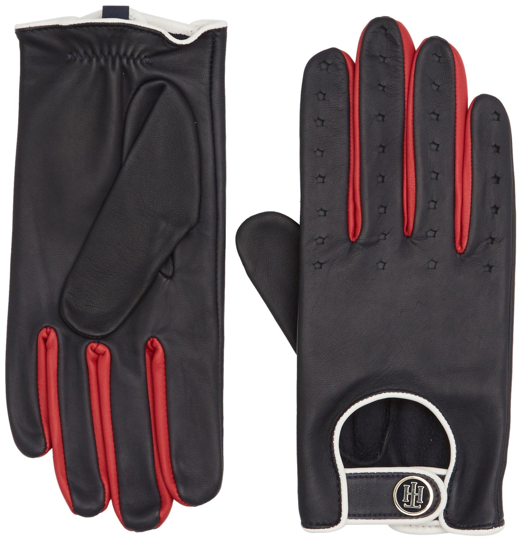 Tommy Hilfiger Biker Leather Gloves Guantes para Mujer
