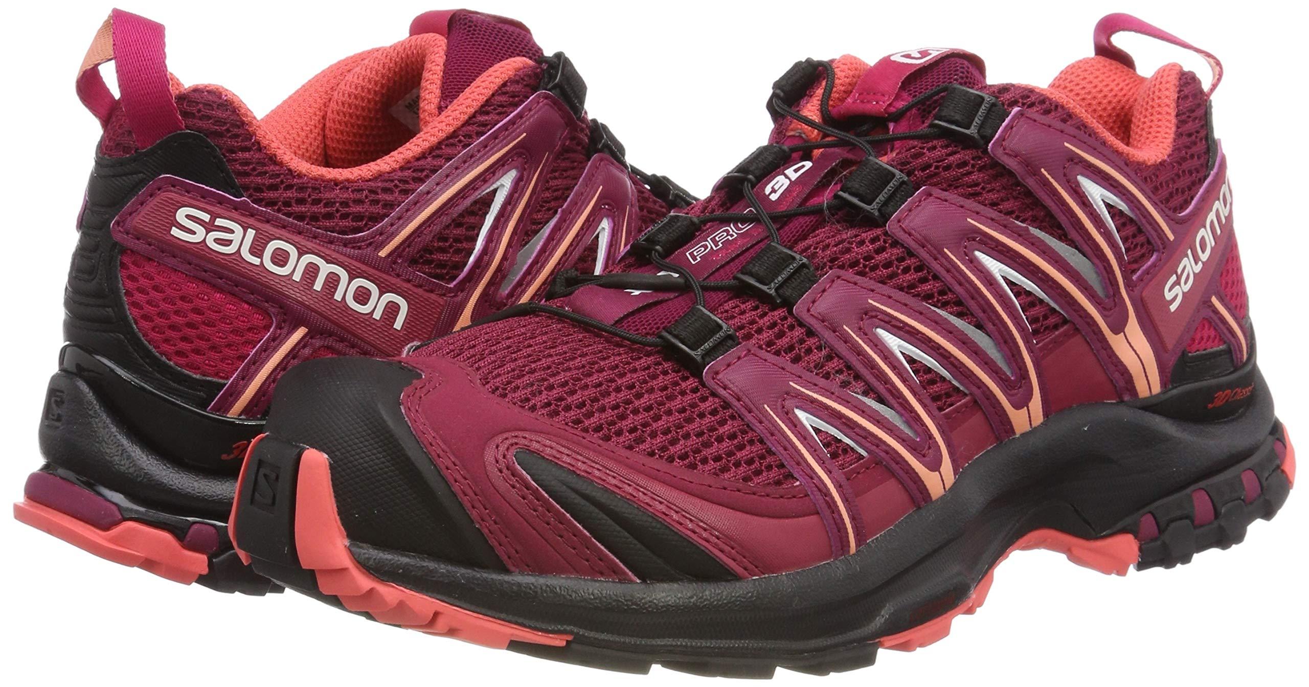81Sjnw6X1jL - SALOMON Women's Xa Pro 3D W Trail Running Shoes