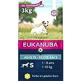 EUKANUBA - Croquettes pour Chien de Petite Race - 100% complète et équilibrée. SANS arôme artificiel ajouté, colorant artific
