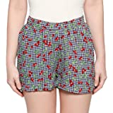Longies Women Viscose Shorts