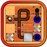 Marbre Mania � le dernier jeu de puzzle d`action ; guider la balle de sphère argent propagée à travers le labyrinthe de Conseil de labyrinthe