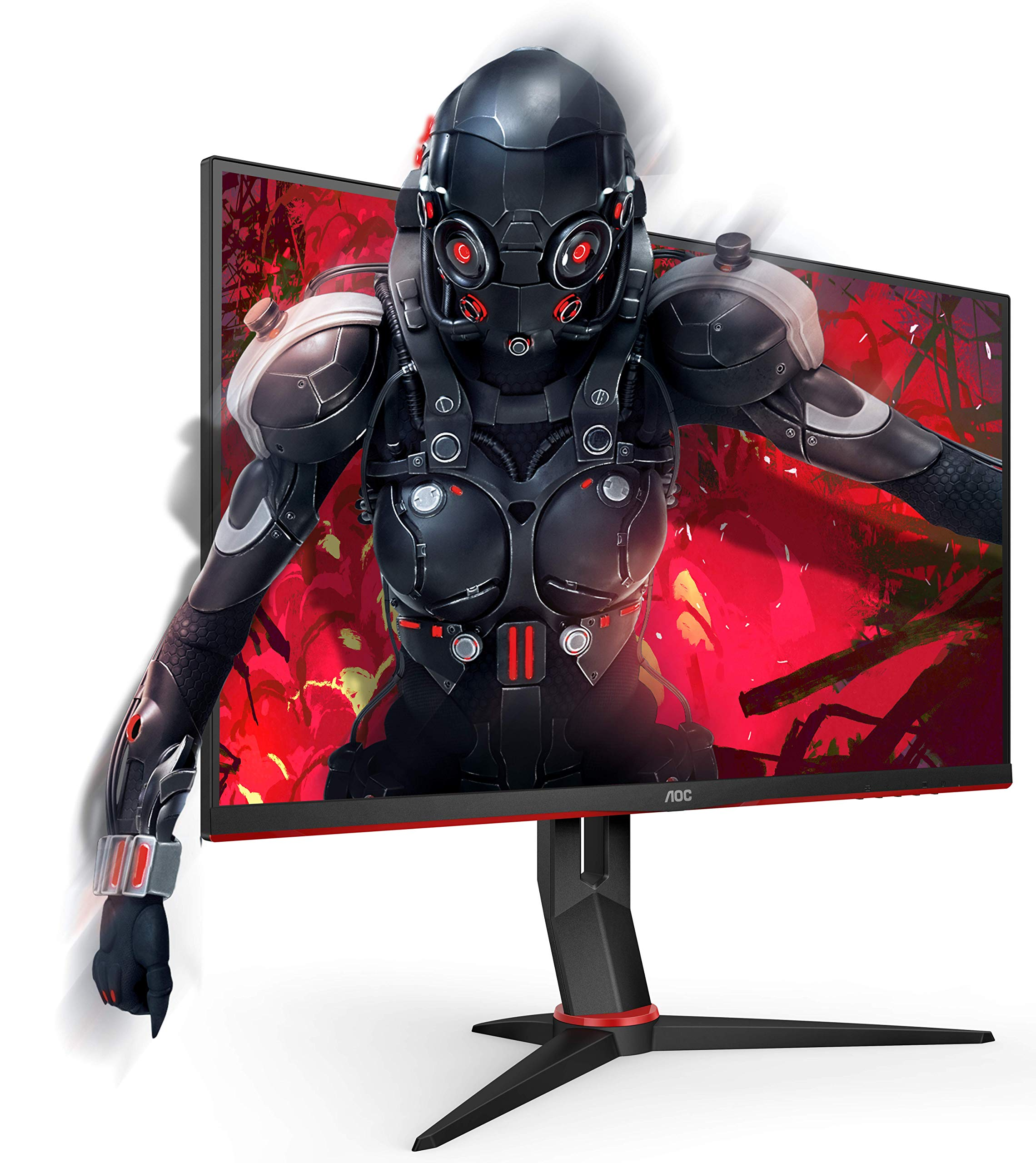AOC-24G2U5BK-238-Widescreen-IPS-LED-Black-and-Red-Multimedia-Monitor-1920x10801msHDMIDP