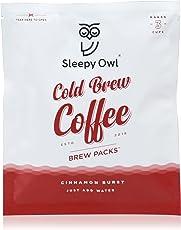 Sleepy Owl Coffee Brew Packs - Cinnamon Burst (Pack of 5)