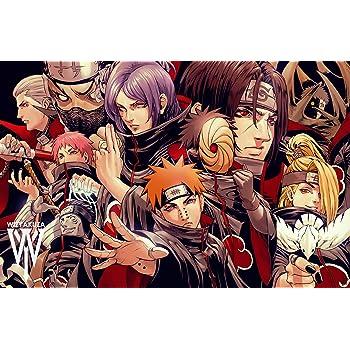 Athah Designs Naruto Kakuzu Zetsu Deidara Kisame Hoshigaki Konan