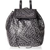 ARMANI EXCHANGE Tablet Messenger bag for Women - Antracite/Argento