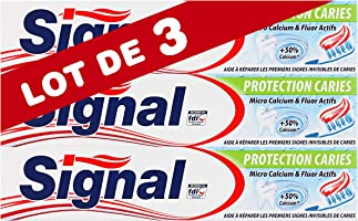 Signal Dentifrice Protection Caries 75ml (Lot de 3)