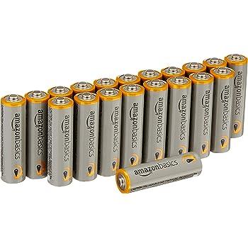 AmazonBasics AA Performance Alkaline Batteries (20-Pack) - Packaging May Vary