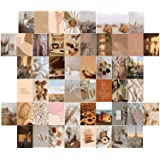 Wall Collage Photos Esthetische Wall Collage Kit 50st Beige Aesthetic Picture Collage Kit for Girls, Wall Art Print Dorm Phot