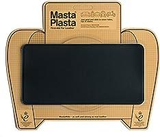 MastaPlasta - Parches autoadhesivos para reparación de Cuero y Otros Tejidos. Negro. Elije el tamaño y el diseño....
