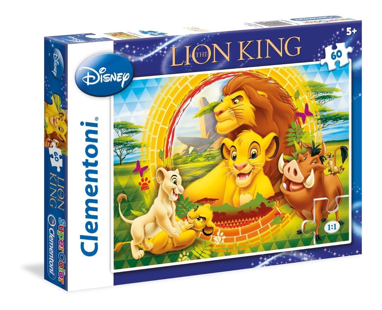 Disney – Puzzle, 60 Piezas, diseño Rey León: el ...