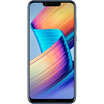 Honor Play Dual SIM, 64 GB storage, 16 MP Dual Camera and 6.3 Inch Full View Display, UK Official Device - Blue