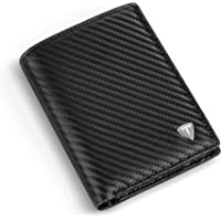 TEEHON® Portefeuille Homme, Cuir Synthétique, Porte-Monnaie avec Blocage RFID/NFC, 10 Porte Carte Crédit, 2 Compartiment…