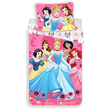 Unbekannt Faro Disney Princess Kinder Bettwasche 140x200 Cm Oeko