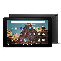 Fire HD 10-Tablet│10,1 Zoll großes Full HD-Display (1080p), 32 GB, Schwarz, Mit Werbung