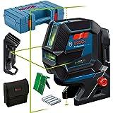Bosch Professional Kombilaser GCL 2-50 G (grön laser, interiör, RM 10-fäste, takfäste, synligt arbetsområde: upp till 15m, 4