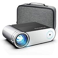 """Videoprojecteur Vamvo 200"""" 5800 Lumens Supporte 1080P Full HD Projecteur, Portable Multimédia Home Cinéma…"""