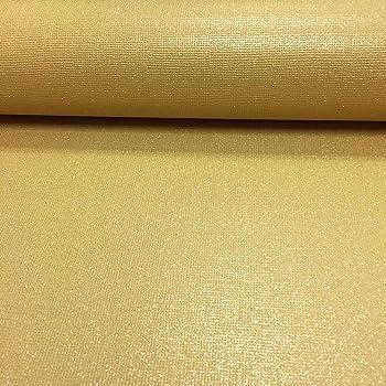 RASCH YELLOW ORANGE MUSTARD TAN MATT PLAIN TEXTURED VINYL WALLPAPER 469042
