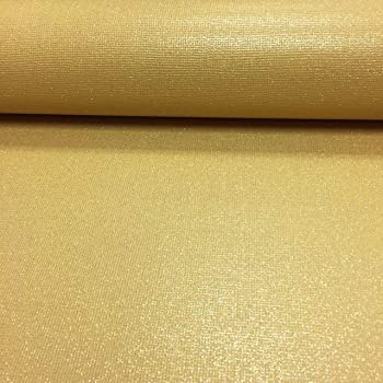 Mustard Plain Glitter Wallpaper Modern Luxury Sparkly Textured Vinyl