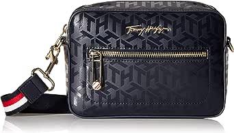 Tommy Hilfiger Damen Iconic Camera Tragetasche Handtasche Blau