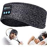 COTOP Diadema deportiva con auriculares Bluetooth, auriculares inalámbricos para dormir con altavoces estéreo HD, perfectos p
