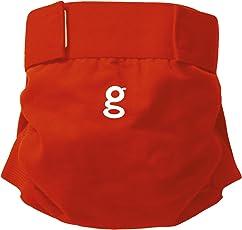 gNappies Little gPants Stoffwindel rot, Größe M (5-11 kg)