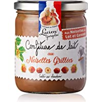 Confiture de lait aux noisettes grillées du Lot & Garonne 400g