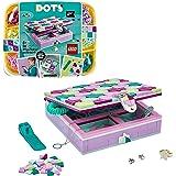 LEGO DOTS BoxGioielli con Elementi Decorativi, Set Bigiotteria Set Fai da Te, Kit Artistici per Bambini, Idee Regalo per l'A