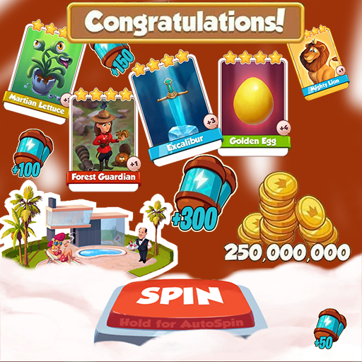 Coin and Spin Master Daily Link
