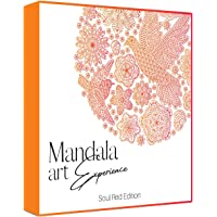 Mandala Art Experience Book for adults set of 2(Volume 1 and 2)Mandala - Coloring Book for Adults, Soul Red Edition…