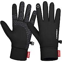 Benirap Winter Thin Thermal Gloves, Lightweight Anti-Slip Touch Screen Gloves, Running Hiking Climbing Cycling Gloves…