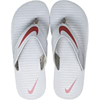 Nike Men's Chroma 5 Wolf Grey/Cedar-Khaki Flip Flops Thong Sandals-9 UK (9.5 US) (833808-011)