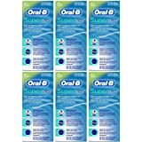 Oral-B Super Floss Mint Dental Floss for Braces Bridges - 50 Strips (Pack of 6)