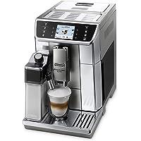 De'Longhi PrimaDonna Elite ECAM 656.55.MS – Kaffeevollautomat mit integriertem Milchsystem, 3,5'' TFT Touchscreen & App-Steuerung, automatische Reinigung, 37,5 x 26 x 48 cm, Edelstahlfront, silber