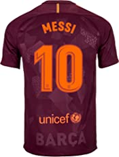 aaDDa Barcelona 3rd Kit Messi Printed Jersey with Shorts 2017-2018