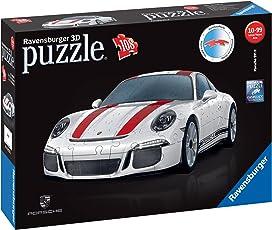 """Ravensburger Erwachsenenpuzzle 12528"""" Porsche 911 R 3D-Puzzle, bunt"""