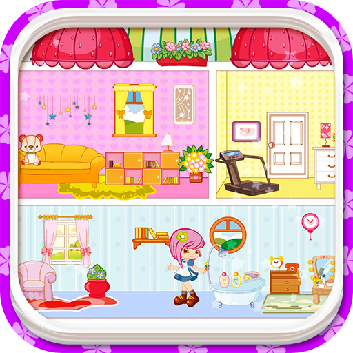 Small people house decoration games House decoration games on gahe