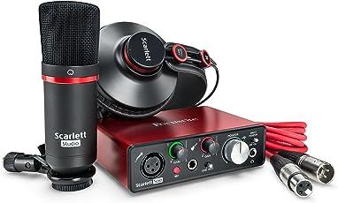 Focusrite Scarlett Solo Studio 2nd Gen Recording Bundle