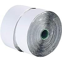 LLPT Hook and Loop Tape 2 Inch x 23 Feet Each Roll Heavy Duty Adhesive Industrial Strength Hook Loop Strip Mounting Tape…