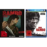 Blu-Ray Rambo 1-4 alle Teile BD Set, Bundle, FSK18 in Deutsch
